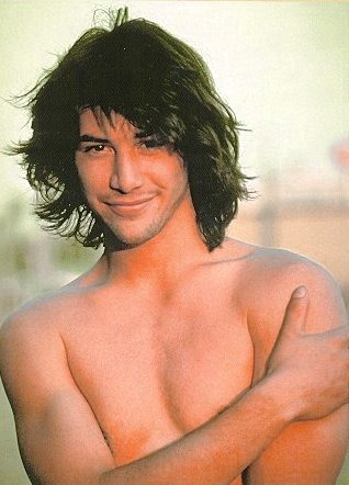 keanu2 Keanu Reeves Young